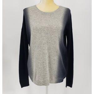 VINCE Ombre Wool Cashmere Blend Sweater - XXS